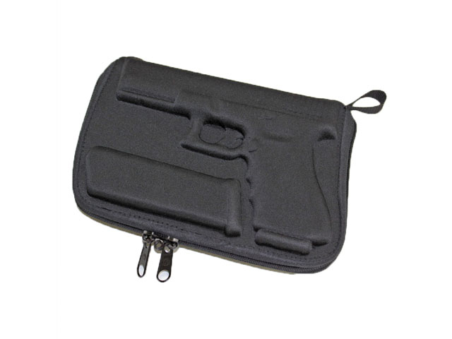 Ballistik molded eva pistol storage case for Glock And Magazine universal fitting 7 inches Barrel lower cost