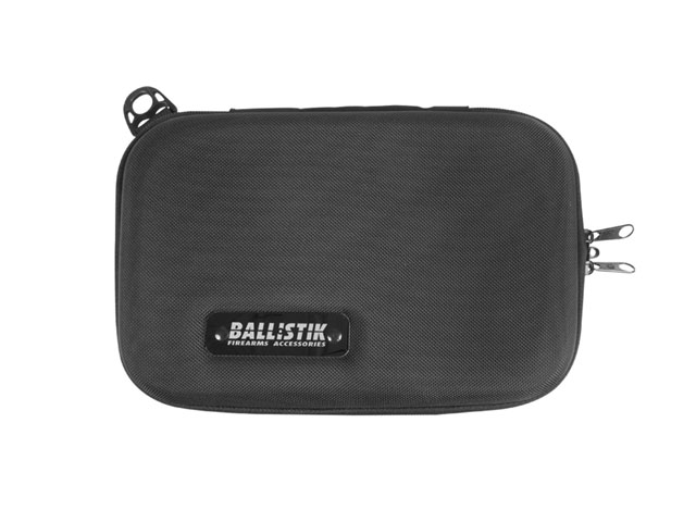 Ballistik thermal formed Ethylene Vinyl Acestate handgun travel case with compression foam interior