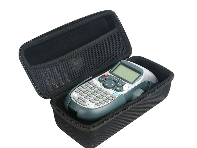 Unbranded Handheld Labeler carrying zippered case one size fits most with two mesh pockets