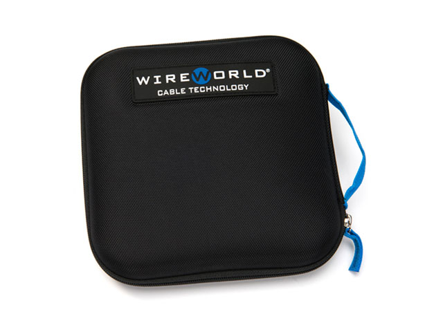 Wireworld hard shell Cable cord organizer storage case for computer/PC/network/AV/jumper cables