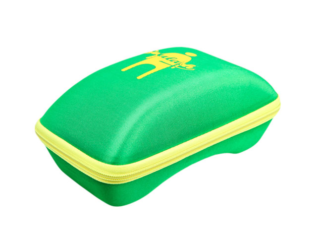 SOULASH molded EVA ski goggle transport case colorful spandex covering with imprinted logo