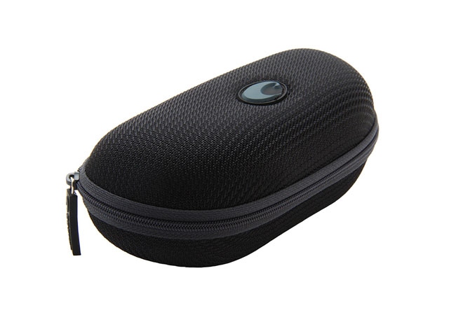 Costa Sunglasses Zippered Hard Case with waterproof nylon covering one size fits most fast sample design