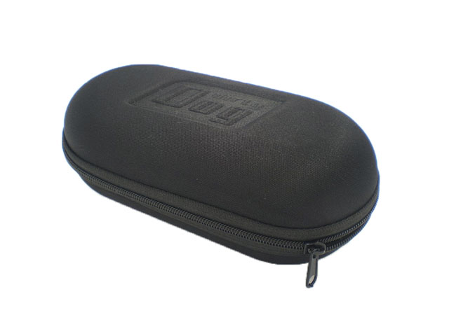 Dirty Dog Molded EVA Sunglasses organizer case lower cost mutispandex coated with embossed logo OEM service available