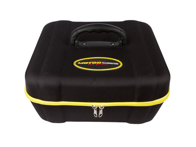 EVA Tire repair Warmer travel kit Case for Motorcycle large size with plastic handle lightweight sturdy construction