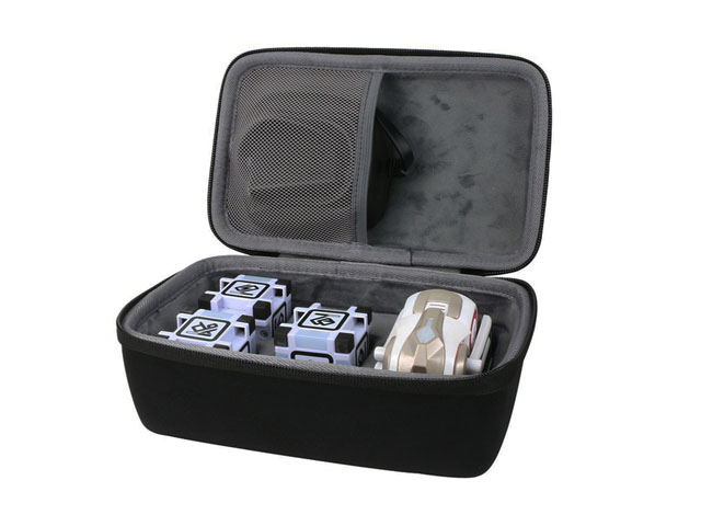 CO2CREA custom EVA Cozmo carrying hard case with perfect fit molded interior and webbing handle