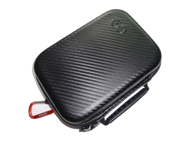 Best custom gopro carrying accessories case by GOCASE high quality leather laminated with Memory foam microsuede lining