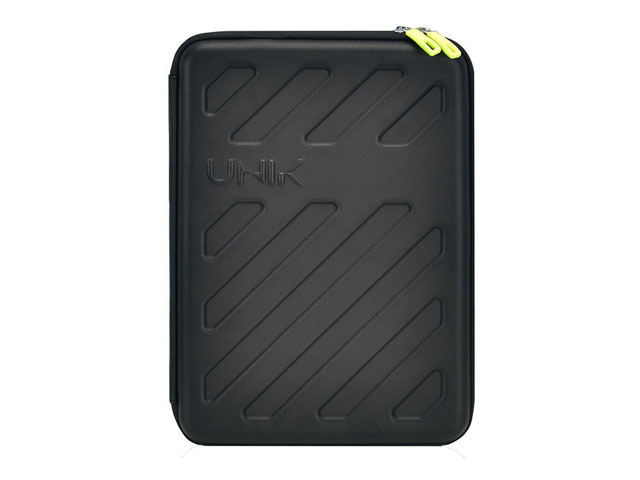 UNIK custom hard shell laptop armor bag case with waterproof zipper top-tier shock absorption
