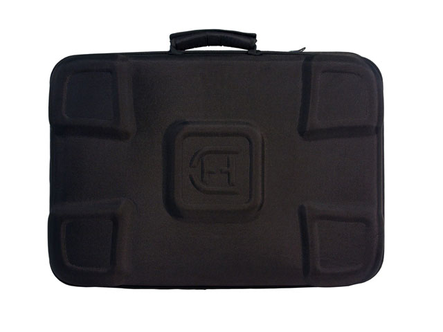 Hard case travel tool boxes high density EVA with 1680D nylon for crane hardware universal storage