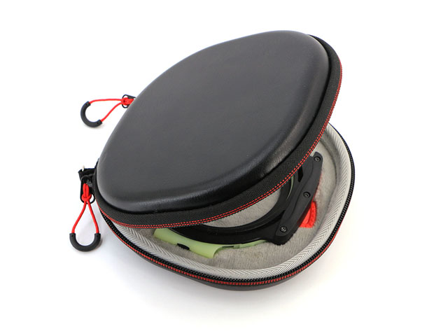 Custom Camera filter case for single len with Hard EVA Litchi grain PU coating
