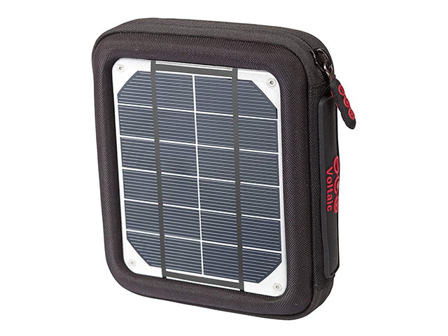 Custom EVA Case for Portable Rapid Solar Charger with elastic band