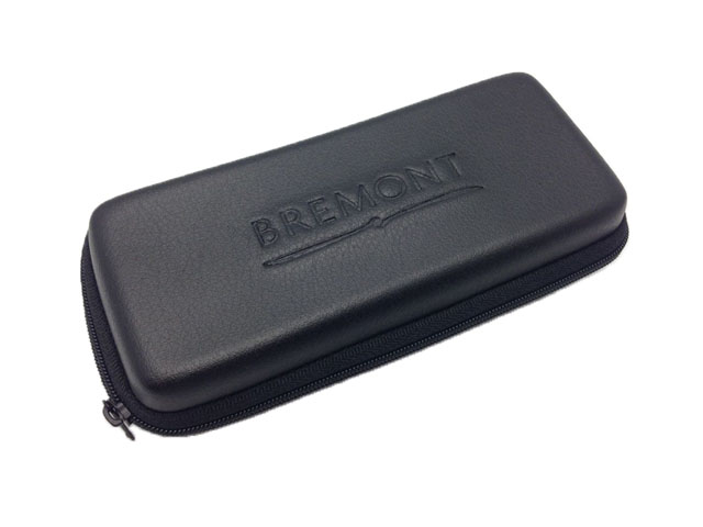 BREMONT Molded leather watch storage box case high quality with elastic band and velvet lining inside-Dongguan EVA Case Manufacturer
