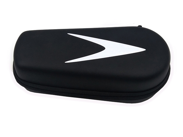 Custom shaped EVA protective Case with black faux Pu leather for multi-purpose